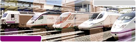 Trenes en vías